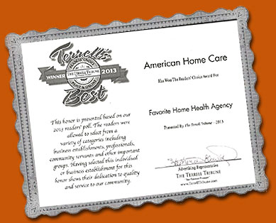 American Home Care - Favorite Health Care
